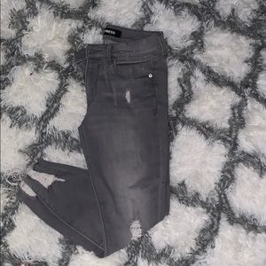 EXPRESS ANKLE LEGGINGS MID RISE
